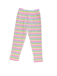 Luigi Kids Striped Leggings
