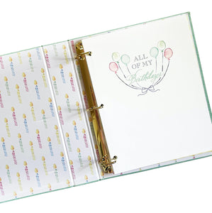 "Over the Moon ""All My Birthdays"" Memory Book"