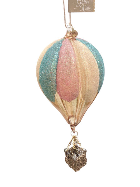 One Hundred 80 Degrees Hot Air Balloon Ornament