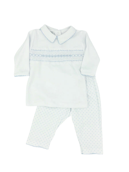 Magnolia Baby Alana and Andy's Classics Smocked 2 Piece Set