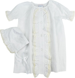 Lullaby Set Timeless Daygown & Bonnet