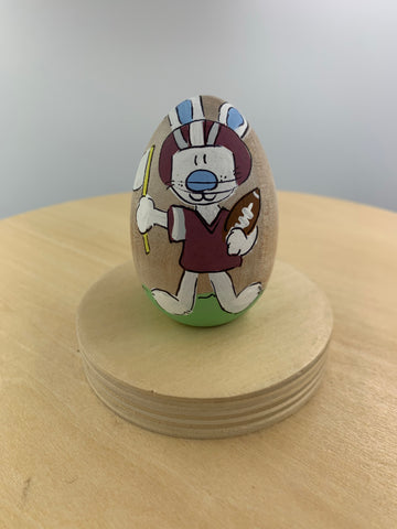 Maroon Football Boy Bunny