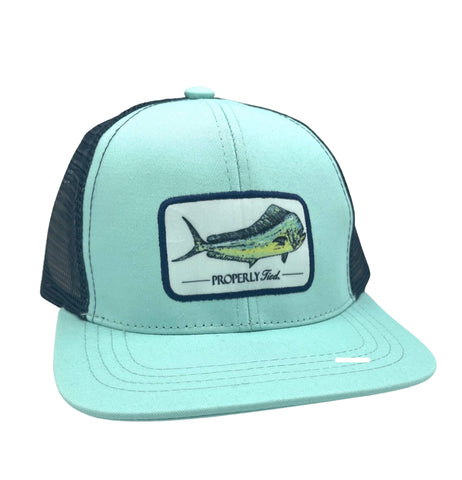Properly Tied Youth Trucker Cap, Mahi