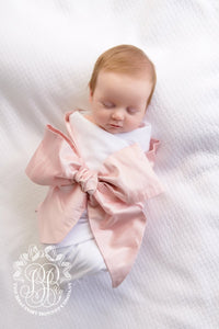 Bow Swaddle Silk