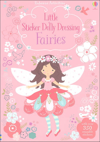 Usborne Little Sticker Dolly Dressing Fairies