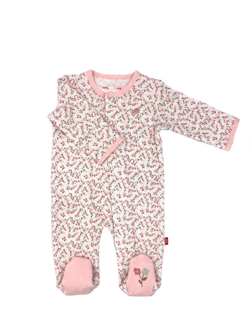Magnetic Me Bedford Floral Organic Cotton Footie