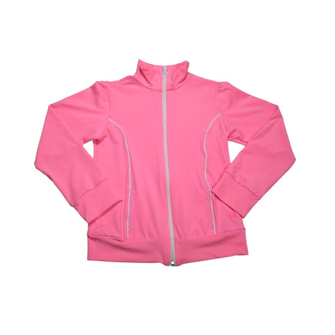 Set Athleisure Juliet Dry-Fit Jacket- Pink/White