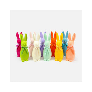 One Hundred 80 Degrees Flocked Button Nose Bunny Medium