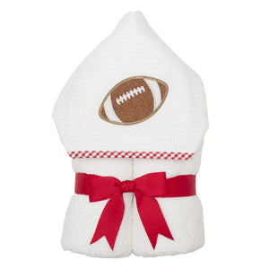 3 Martha's Everykid Towel Red Football