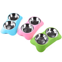 Double Pet Feeder