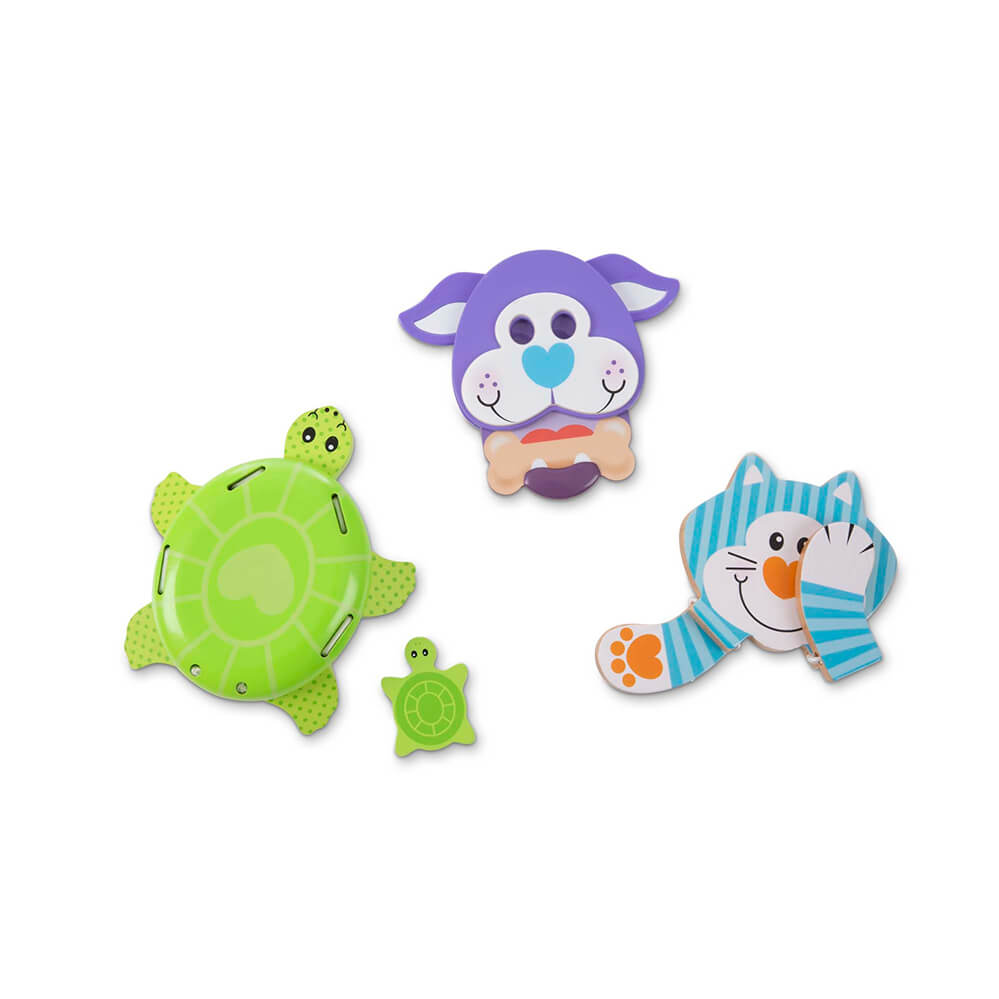 Melissa and Doug Favourite Pets Grasping Toys