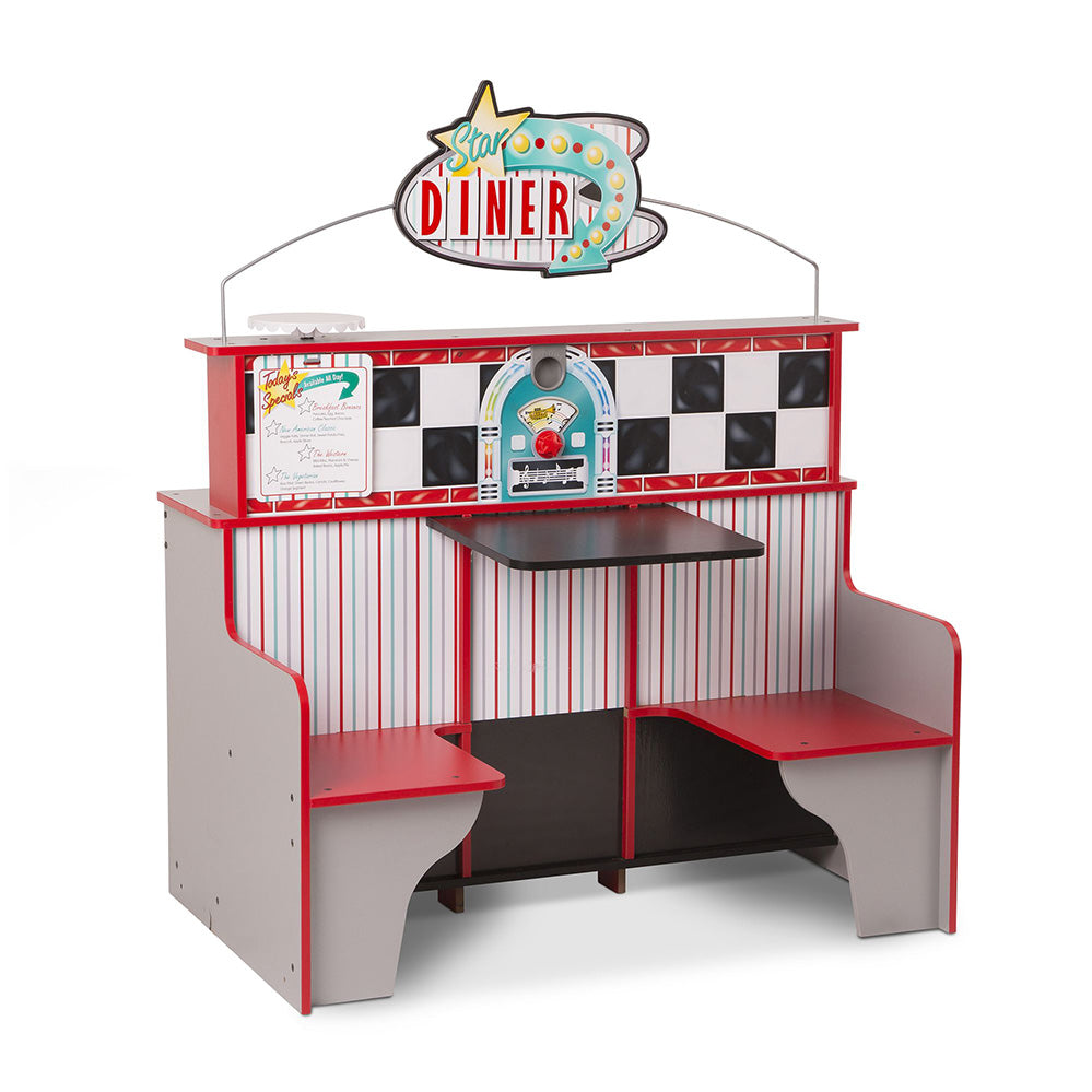 Melissa and Doug Star Diner Resturant