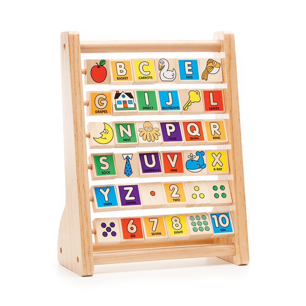Melissa and Doug ABC/ 123 Abacus