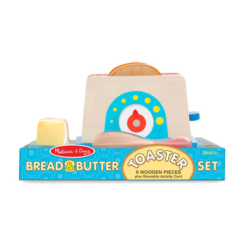 Melissa and Doug Toaster Bread & Butter Set