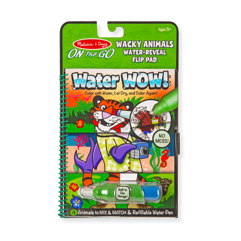 Melissa and Doug Water Wow Wacky Animals