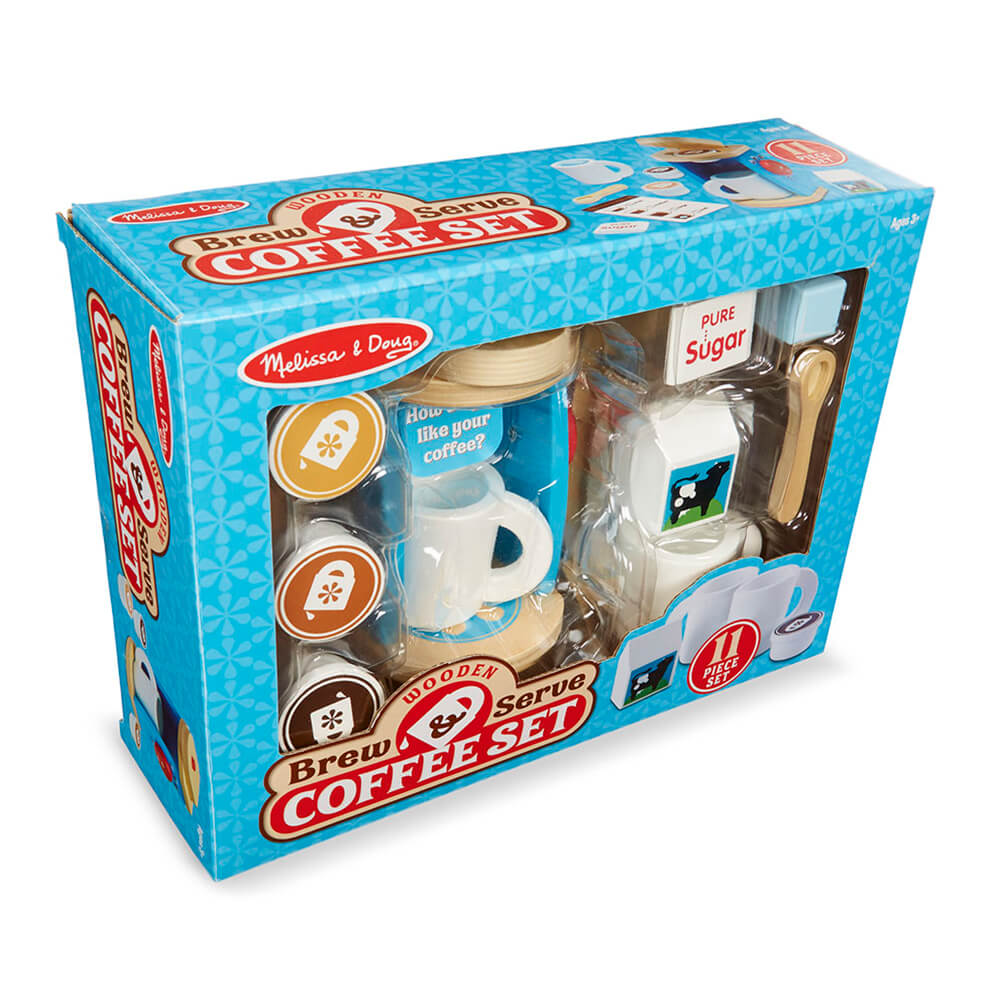 Melissa and Doug Brew & Serve Coffee Set