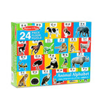 Melissa and Doug Animal Alphabet Floor Puzzle 24pcs