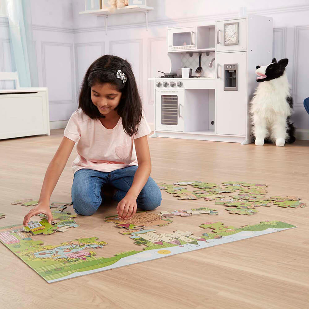 Melissa and Doug Princess Fairyland Giant Floor Puzzle