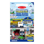 Melissa and Doug Vehicles Take Along Magnetic Puzzle