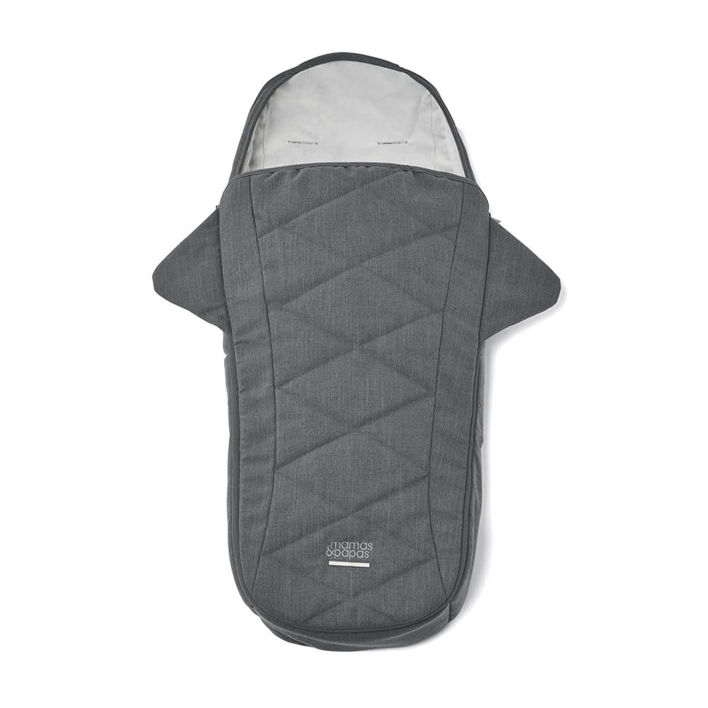 Mamas and Papas Strada Grey Mist Footmuff