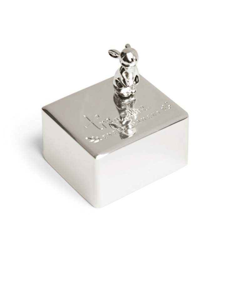 Mamas and Papas Silver Music Box