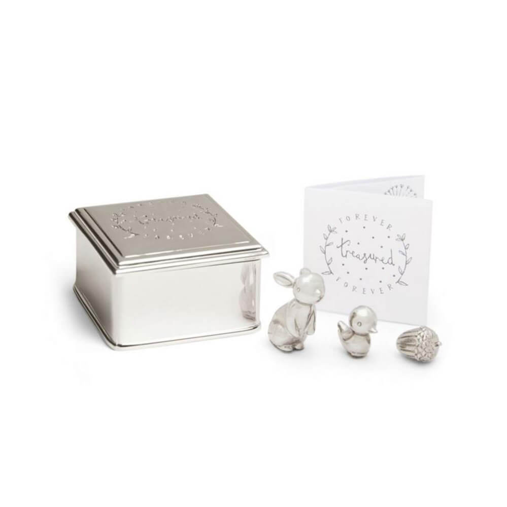 Mamas and Papas Silver Trinket Box