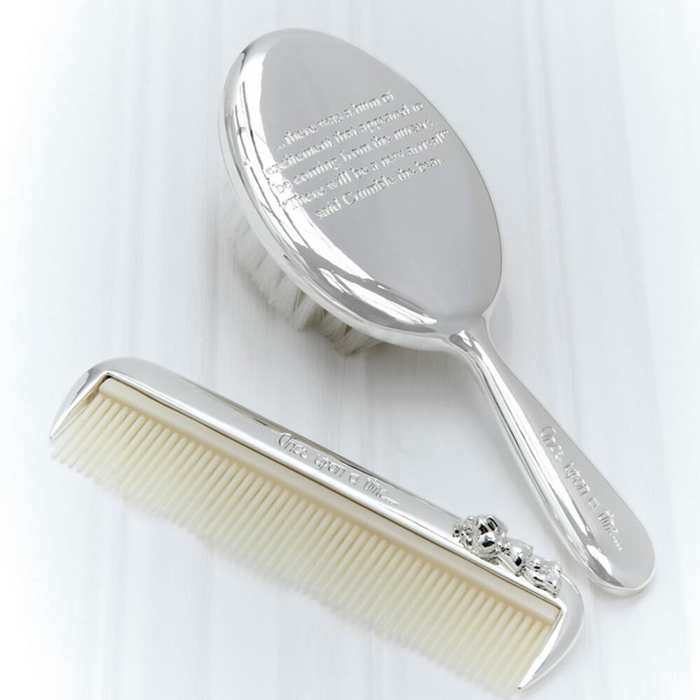 Mamas and Papas Brush & Comb Set - Once Upon a Time