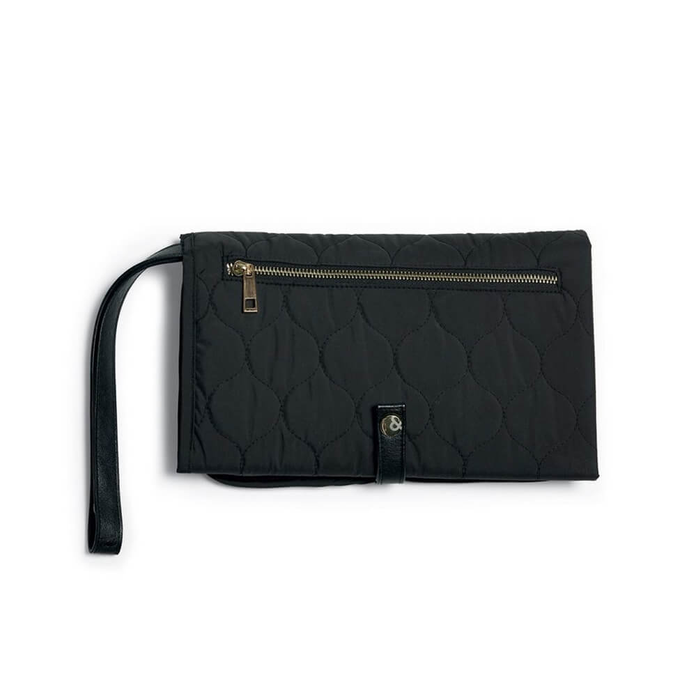 Mamas and Papas Black Changing Clutch Bag