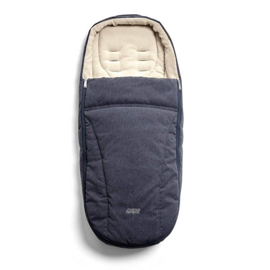 Mamas and Papas Navy Footmuff