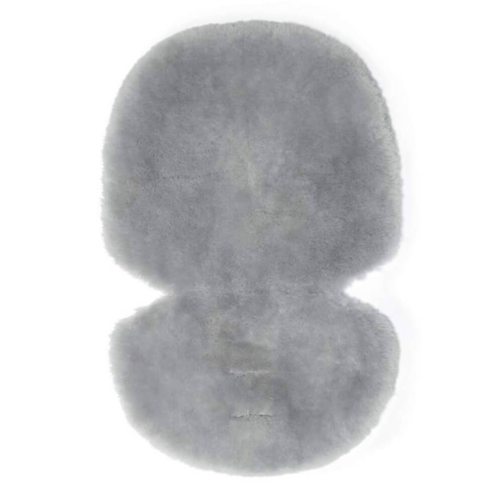 Mamas and Papas Grey Sheepskin Stroller Liner