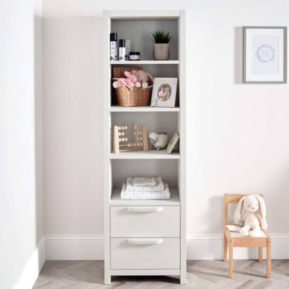 Mamas and Papas Franklin White Wash Bookcase