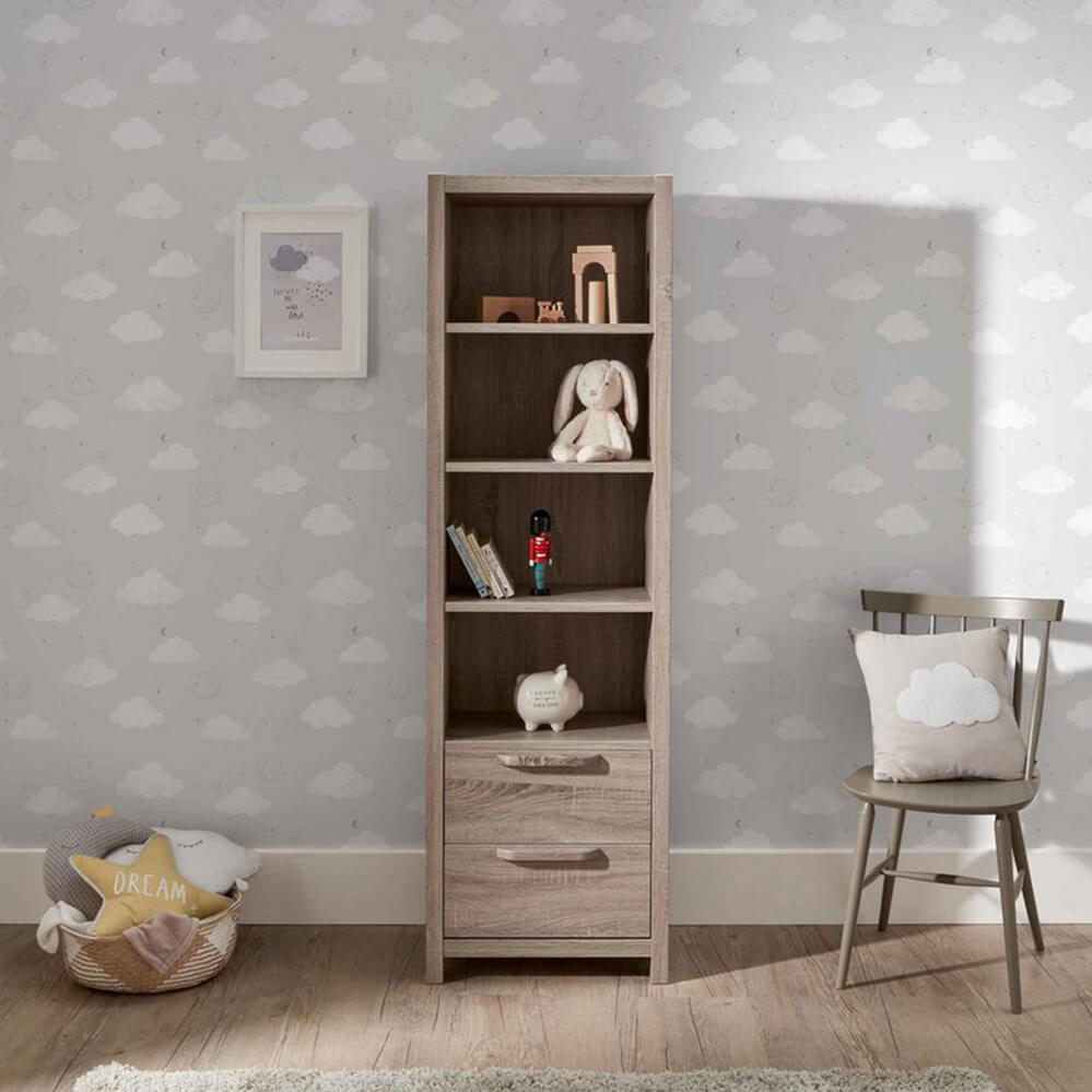 Mamas and Papas Franklin Grey Bookcase