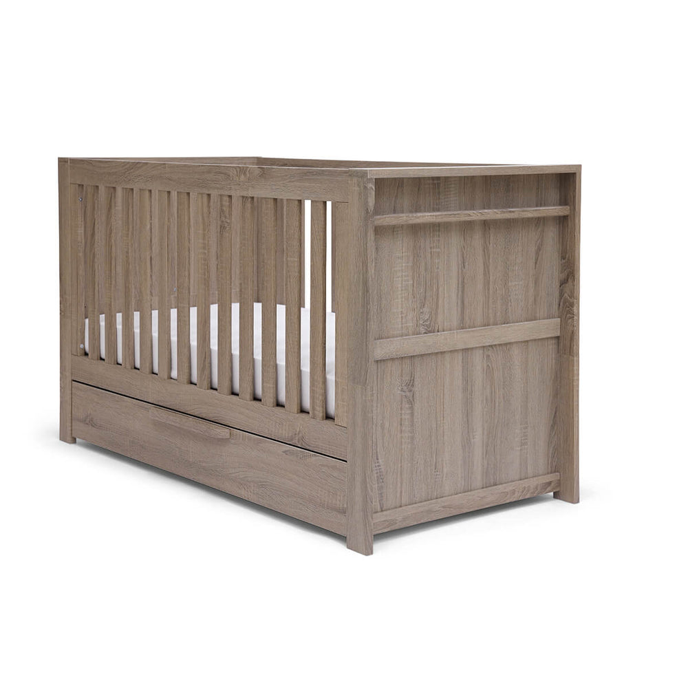 Mamas and Papas Franklin Grey Cotbed