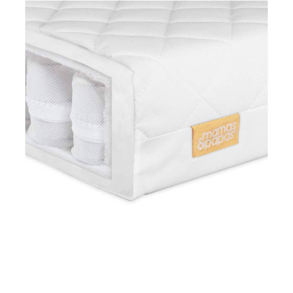 Mamas and Papas Pocket Sprung Cotbed Mattress **Pre-Order, Ships End Jan**