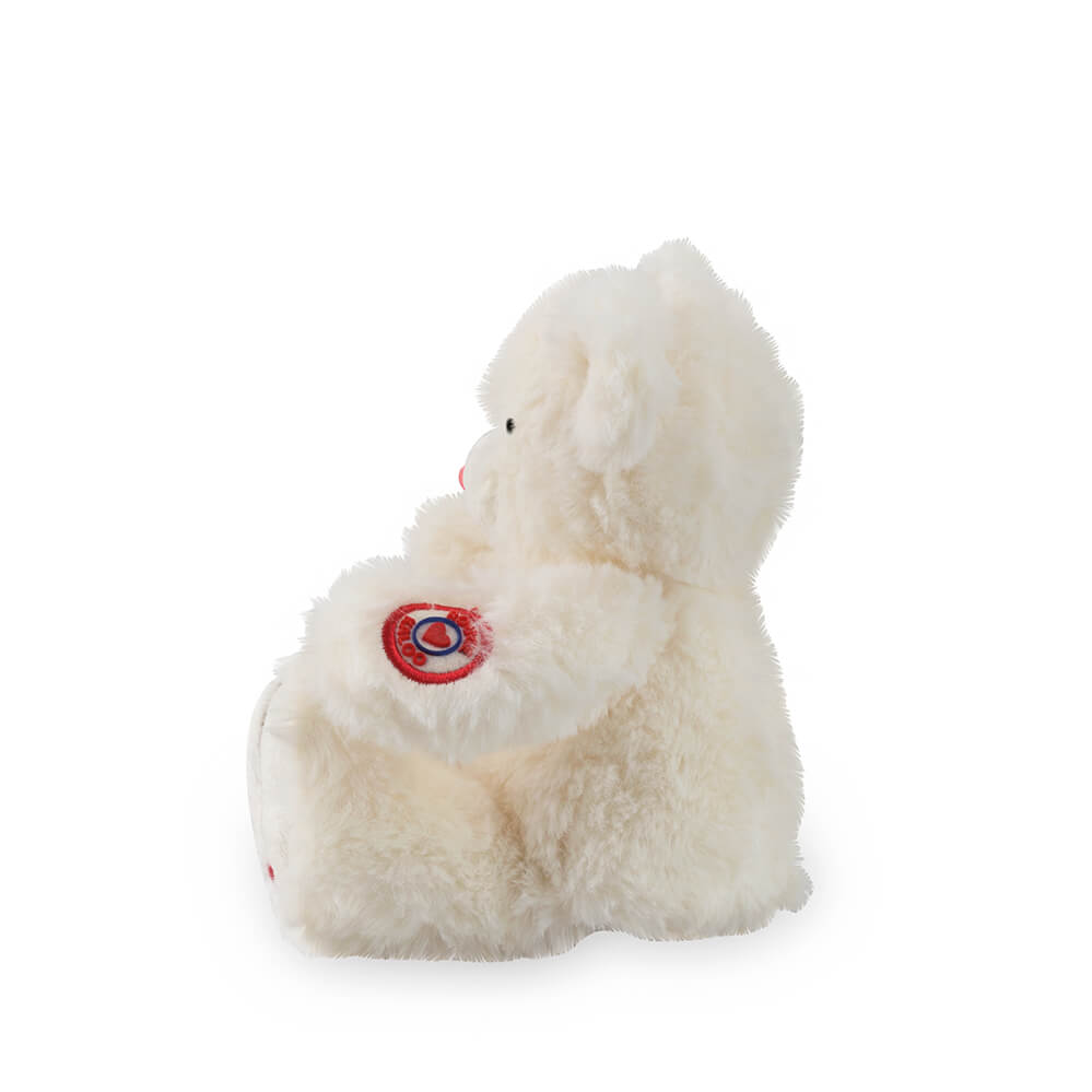 Kaloo Small Bear Ivory White 19cm