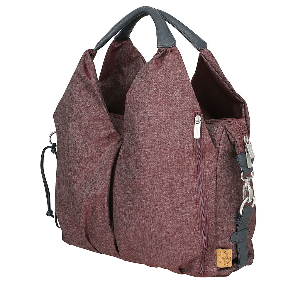 Lassig Green Label Burgundy Nappy Bag