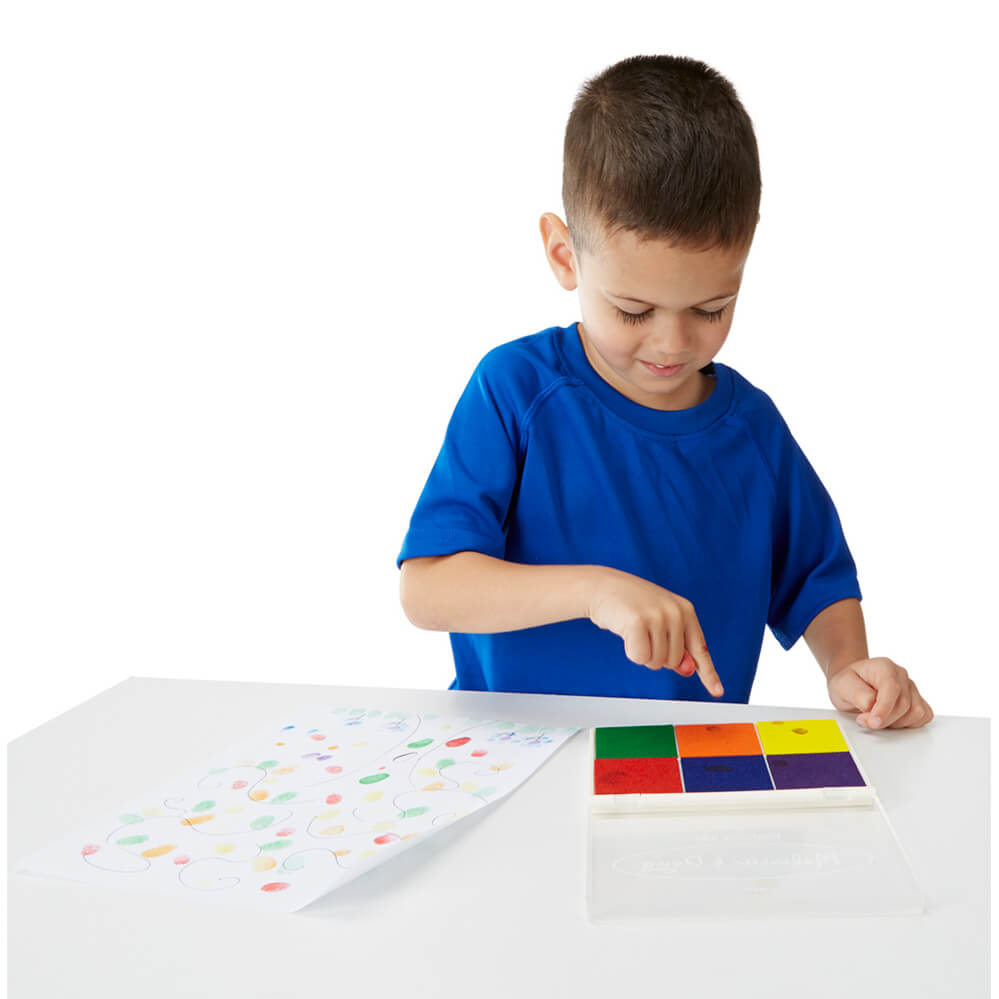 Melissa and Doug Rainbow Stamp Pad