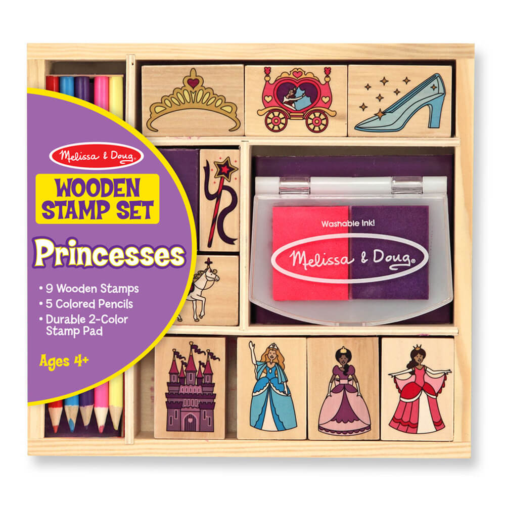 Melissa and Doug Princess Stamp Set