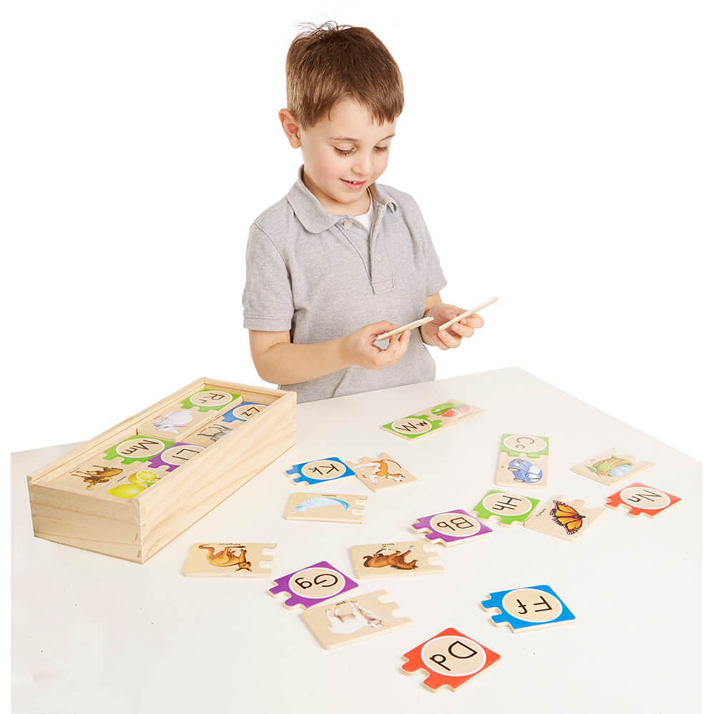 Melissa and Doug Puzzle Card Letters