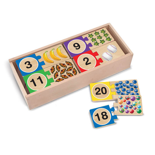 Melissa and Doug Puzzle Card Numbers