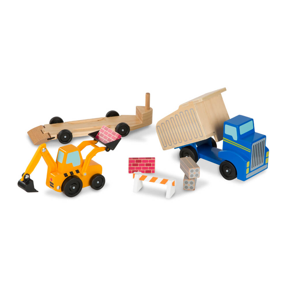 Melissa and Doug Dump Truck & Loader