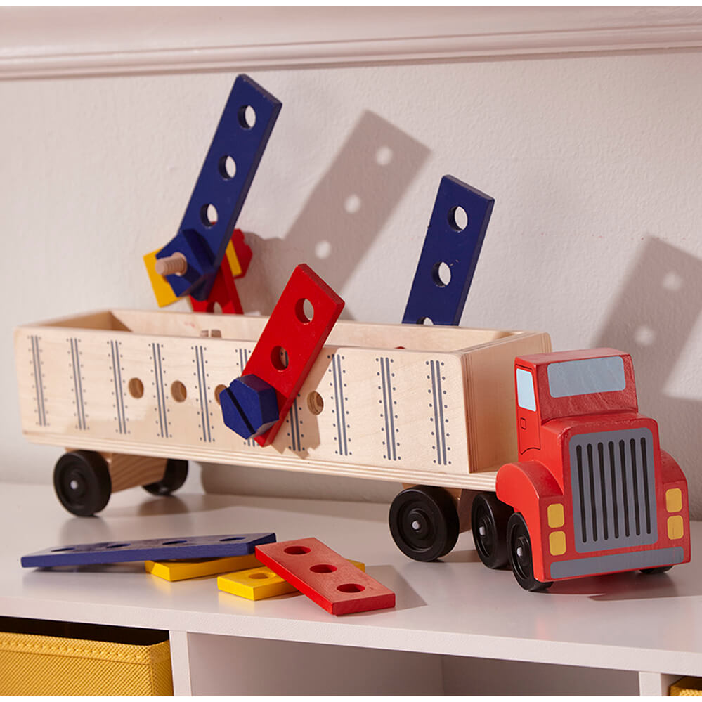 Melissa and Doug Big Rig Building Set