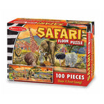 Melissa and Doug Safari 100pc Floor Puzzle