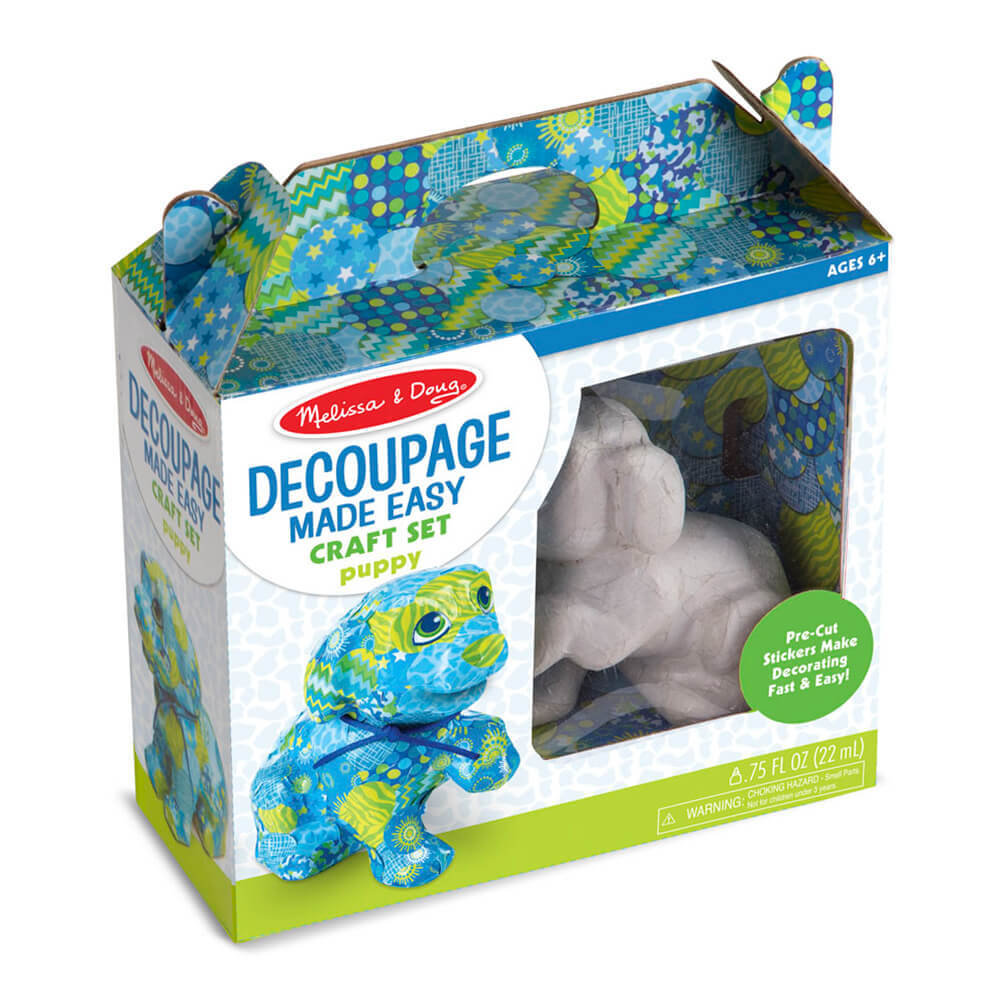 Melissa and Doug Decoupage Puppy