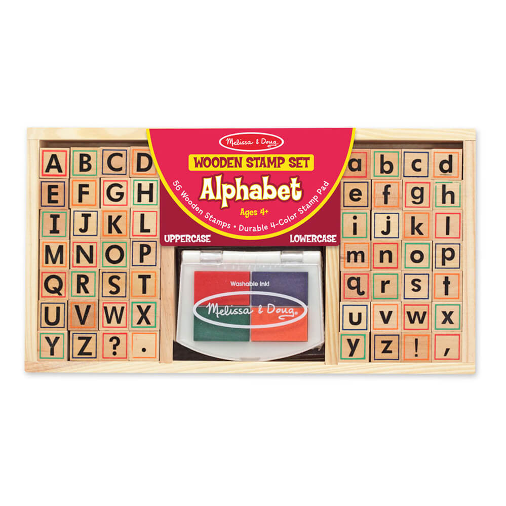 Melissa and Doug Alphabet Stamp Set