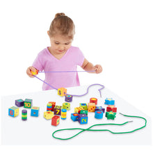 Melissa and Doug Lacing Beads in a Box