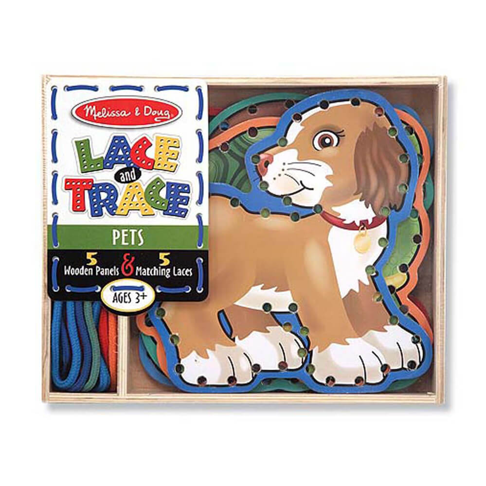 Melissa and Doug Lace & Trace Pets
