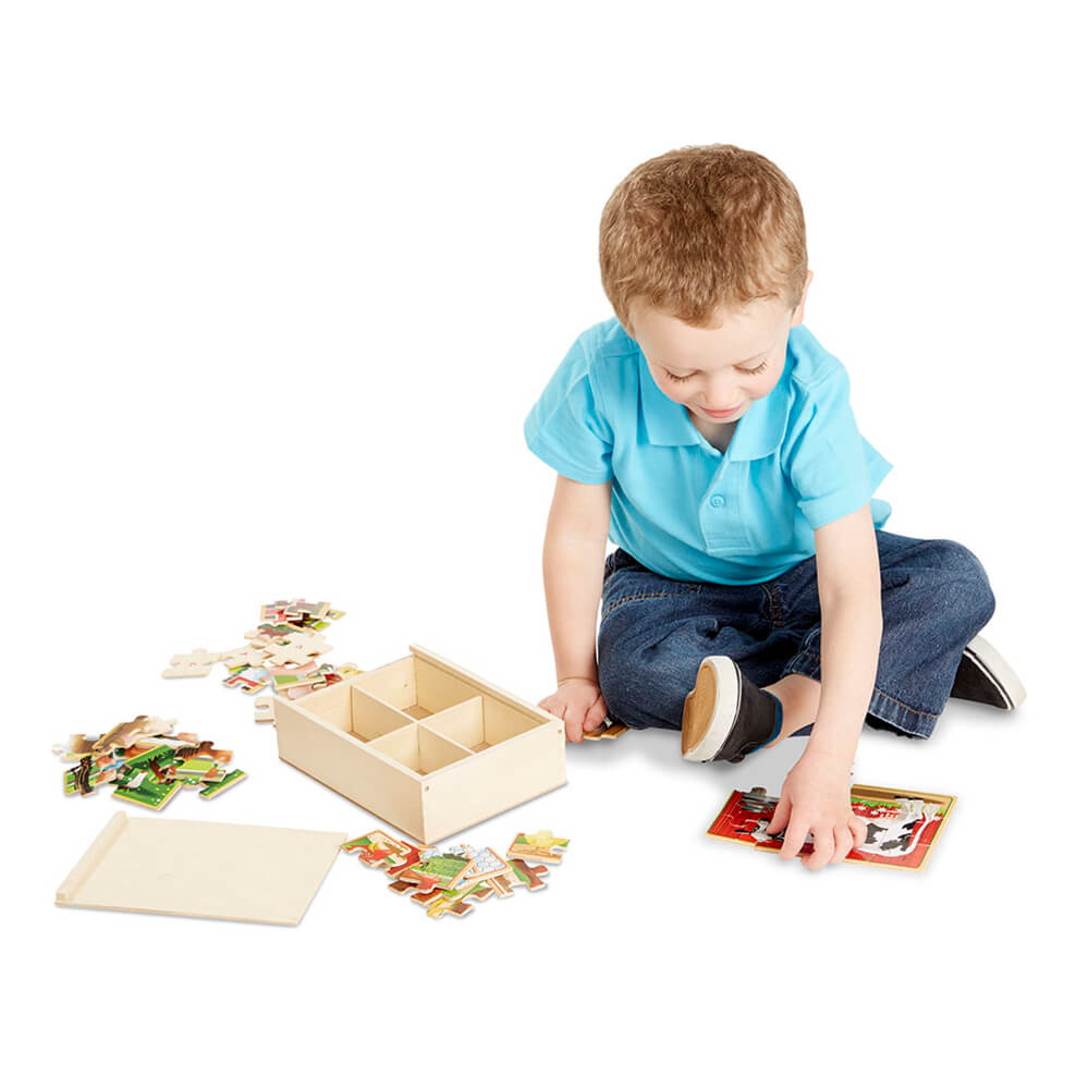 Melissa and Doug Farm Puzzle in a Box