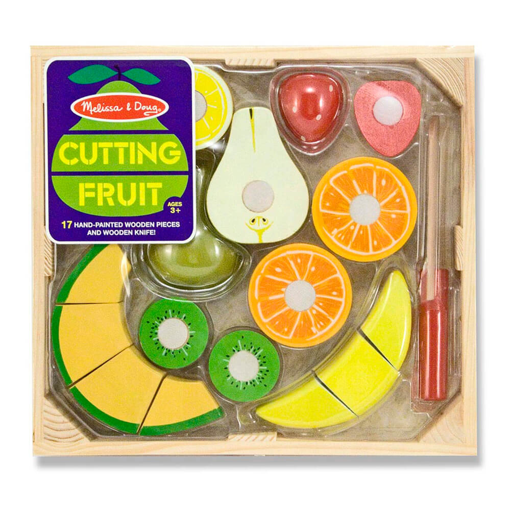 Melissa and Doug Fruit Cutting Crate