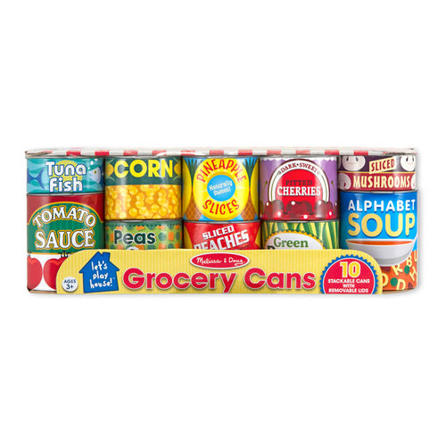 Melissa and Doug Grocery Cans